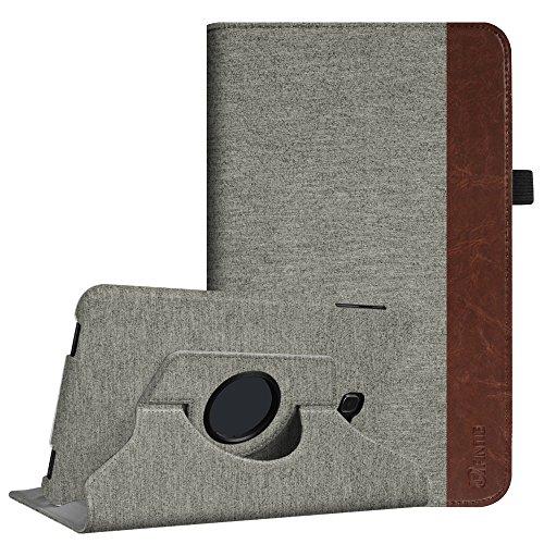 Fintie Samsung Galaxy Tab A 10.1 Hülle - 360° Drehbarer Stand Cover Case Schutzhülle Tasche Etui mit Ständerfunktion Auto Schlaf / Wach Funktion für Samsung Galaxy Tab A 10,1 Zoll T580N / T585N Tablet (2016 Version), Denim grau
