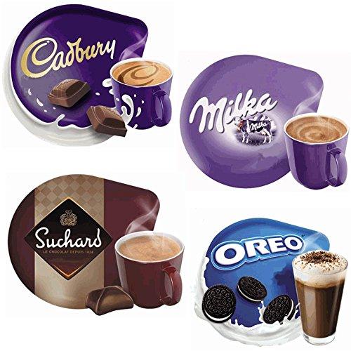 Espresso-maschine-paket (Tassimo T Disc Probierpaket: Alle Tassimo Kakaospezialitäten Heiße Schokolade)