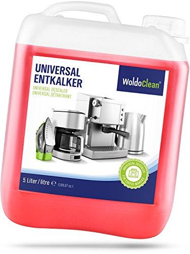 Woldoclean decalcificante liquido per macchine caffe 5 litri