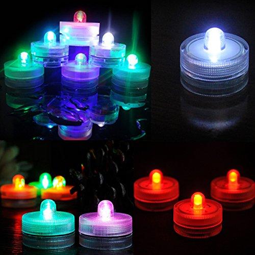 Aliciashouse Impermeabile LED luce festa di nozze decorazione floreale lampada
