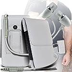 Il marsupio proteggerà il vostro dispositivo e aggiungere lo stile ad esso, in pelle PU con un rivestimento morbido sulla parte interna per offrire una protezione round completo. Basta collegare il caso a qualsiasi cintura.  P> La auricola...