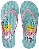 Lavie Women's Blue Flip-Flops and House Slippers - 6 UK/India (39 EU)