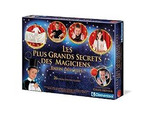 Clementoni 62508  - Juego con 26 Juegos de Magia para niños Importado de Francia