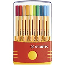 STABILO point 88 - Rotulador punta fina - Estuche premium Colorparade con 20 colores