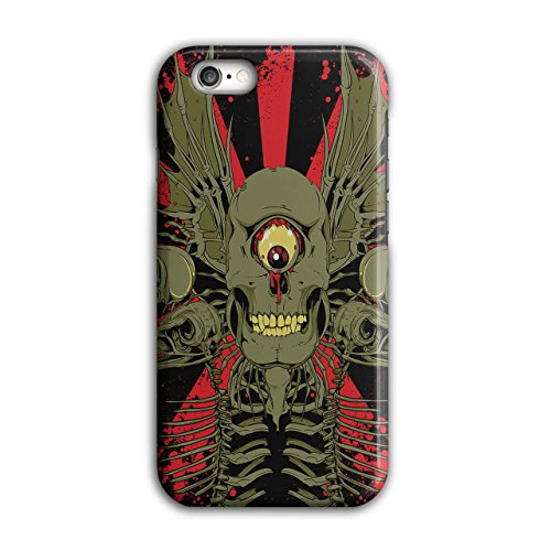 Zombie Monster Horror Horror Schädel iPhone 6 / 6S Hülle | (Zombie Asyl Apokalypse)