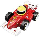BB Junior Ferrari Touch and Go: Spielzeugauto Ferrari F2012 mit Motorengeräuschen, fährt auf Knopfdruck los, ab 12 Monaten, rot (16-81605)