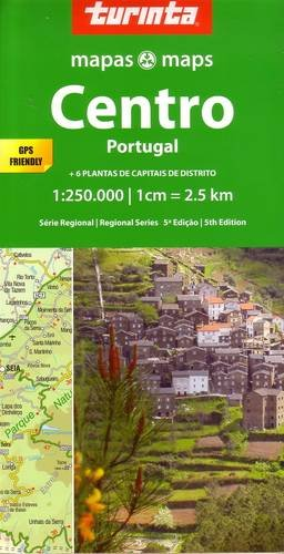 Portugal Central 1 : 250 000: Centro Portugal (Regional Series) por Turinta LDA