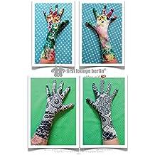 Glory Gloves Finger-Handschuhe nach Maß für die ganze Familie PDF-Datei mit Nähanleitung OHNE Schnittmuster auf CD