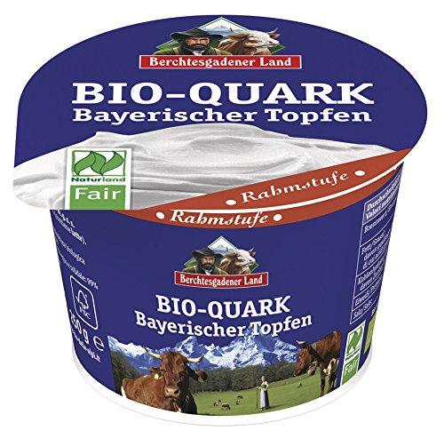 Berchtesgadener Land Bio Naturland Bio-Quark Rahmstufe (1 x 250 gr)