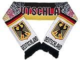 Schal, Fanschal, Scarf, Deutschland, BRD gepunktet