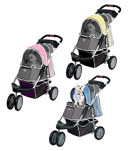 Pet Stroller Ips-09/Blue, dog carrier, trolley, Trailer, Innopet, Buggy First Class. Foldable pet buggy, pushchair, pram… 1