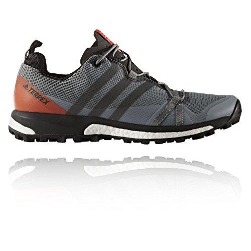 adidas Terrex Agravic, Zapatos de Senderismo para Hombre, Gris (Grigio Grivis/Negbas/Energi), 45 EU