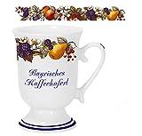 magicaldeco Porzellan- Tasse, Kaffeepott, Becher - Bayern- Obstranke - Deutsches Produktdesign