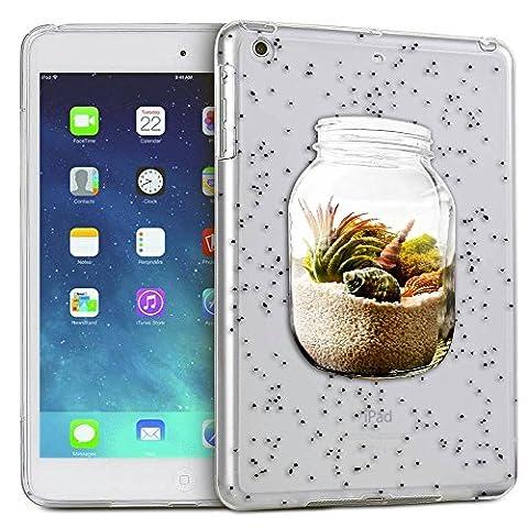 c0100 - Sand in a Jar Beach Design ipad Mini 4 - 2015 Fashion Trend Protecteur Coque Gel Rubber Silicone protection Case Coque