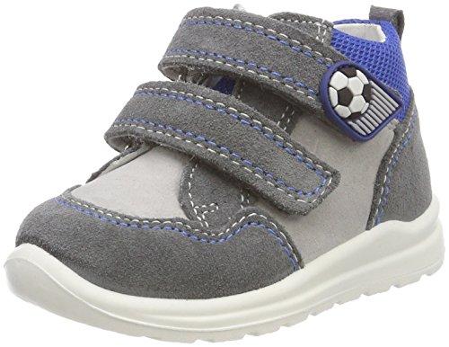 Superfit Baby Jungen Mel Sneaker, Grau (Smoke Kombi), 25 EU
