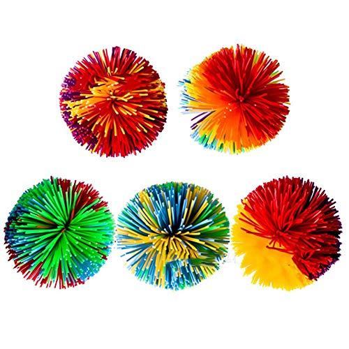 Gummi Strang Stringy Balls Bunte Gummi Ball Spielzeug für Kind (Kleine Größe) ()