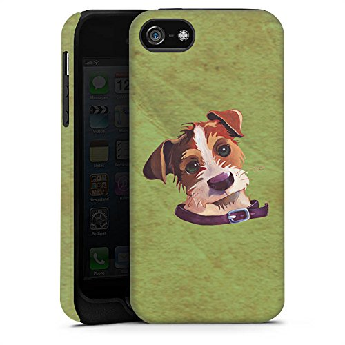 Apple iPhone X Silikon Hülle Case Schutzhülle Jack Russell Hund Dog Tough Case matt