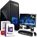 Win 10 PC Komplett Set System Intel i5-6500 4x3.6 GHz mit TFT 8 GB Intel HD 530