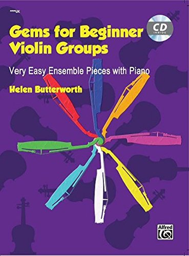 Gems for Beginner Violin Groups: Book & CD