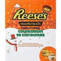 Les tasses de beurre d'arachide du calendrier de l'Avent américain de Reese's 250g