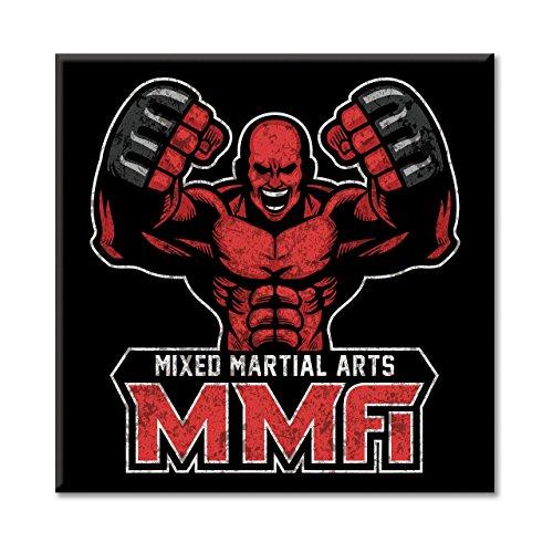 Leinwand Bild Canvas MMA Kampf Mixed Martial Arts Ring Käfig Sport Möbel in -