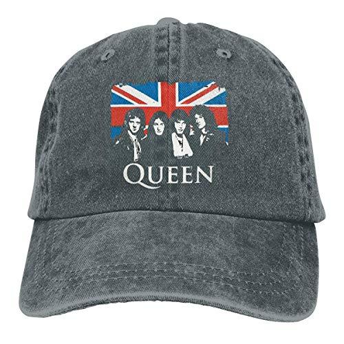 Queen Vintage Union Jack Baseball Cap Vintage Dad Hat Adjustable Polo Trucker Unisex Style Headwear