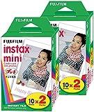 Fujifilm Instax Mini Film (40 Aufnahmen) Multi Pack für Mini 8–9 & Alle Fuji-Mini-Kameras