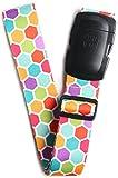 ORB Travel-LS303-Bienenwabe-Mehrfarben--Premium Designer Koffergurt/Kofferband/Gepäckgurt/Gepäckband-2m x 5cm