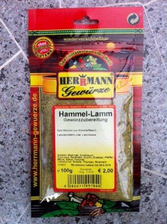 Hammel-Lamm-Gewürz ohne Zusatzstoffe,ohne Glütamat Spar-Set 3x100g. Zum Würzen von Hammelfleisch,...
