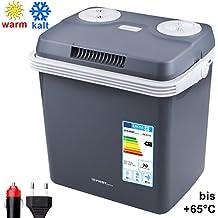 Nevera portátil de 32 litros | Mantiene el frío y el calor | Nevera portátil termoeléctrica de 12 voltios y 230 voltios | Mini nevera | Nevera camping | Nevera coche | Nevera de viaje |