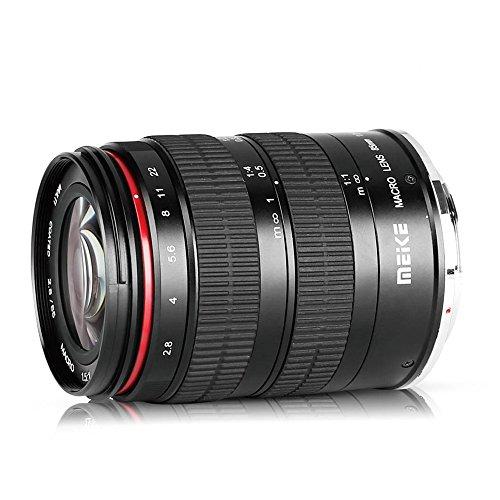 Meike MK 85 mm f/2.8 fuoco manuale Full Frame Medium teleobiettivo 1.5: 1 obiettivo macro e ritratto fotografia per Sony Emount mirrorless (Canon EFmount)
