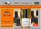 Farbstift Lackstift Touch-Up-Pen for IKEA STUVA black