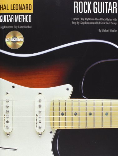 Hal Léonard guitar method: rock guitar guitare+CD