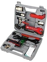 Top - Kit Outillage Vélo - Coffre à outils pour vélo -Boite à outils - Caisse à outil vélo - 26 pièces