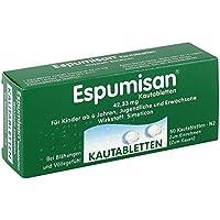 Espumisan Kautabletten 50 stk preisvergleich bei billige-tabletten.eu