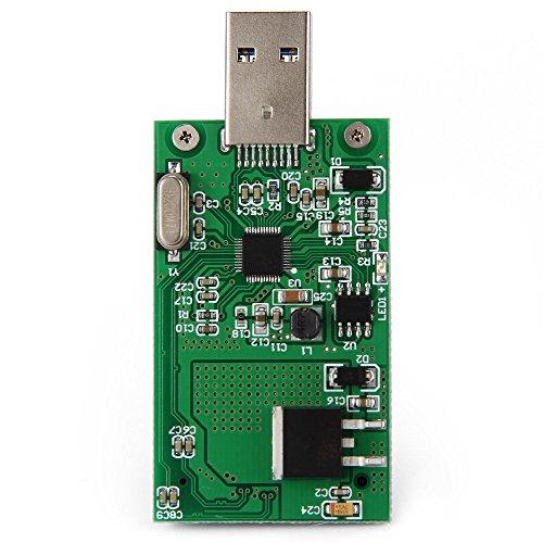 SA–167Mini PCI-E mSATA auf USB 3.0externe SSD Conveter Karte