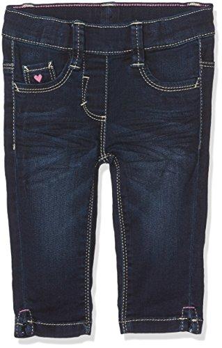 s.Oliver Mädchen Jeans Caprihose, Blau (Blue Denim Stretch 57Z7), 128 (Herstellergröße: 128/REG)