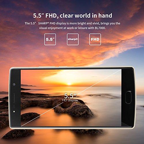 Moviles Libres Baratos  DOOGEE BL7000 Smartphone Libre - 5 5 Pantalla HD IPS - MT6750T Octa-Core - 4GB RAM   64GB ROM - Triple 13 0MP - Bater  a de 70