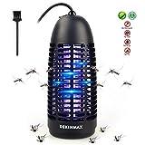 DEKINMAX Lampe Anti Moustique Électrique UV Tueur de Moustiques Portable Lampe de Tente contre les Moustiques Mouches Insectes Interieur et Exterieur