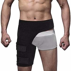 AOLVO Hip Stabilisator und Tiefschutz Brace Oberschenkel