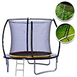 Kanga Premium Trampoline with Safety Enclosure, Net, Ladder - Best Reviews Guide