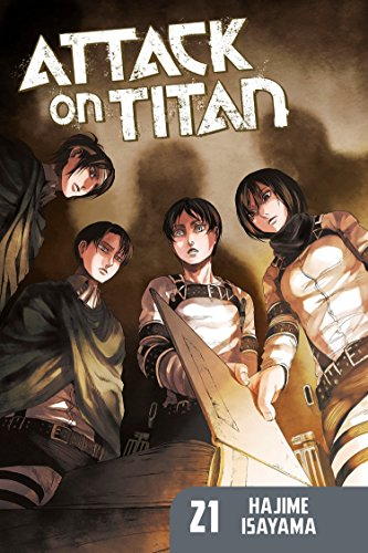 Locked in desperate battle with the man-eating Titans, the Survey Corps gets closer than ever before to Eren's basement and unlocking the mysteries of their walled world. But to get there, they will have to make a terrible choice with life-altering c...
