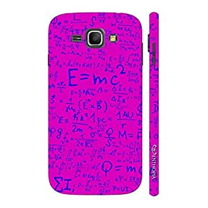 Enthopia Designer Hardshell Case White & Blue Cheetah Back Cover for Samsung Galaxy J1 (2016)