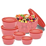 #6: BMS GoodDay Storex Fresh Plastic Bowl Package Container, Set of 7