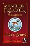 Pegasus Spiele 17147G - Munchkin Fish'n'Ships Booster