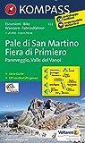 Carta escursionistica n. 622. Pale di San Martino-Fiera di Primiero