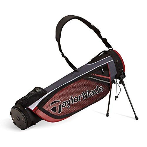 taylormade-2016-quiver-pencil-bag-mens-golf-carry-bag-2-way-top-black-red