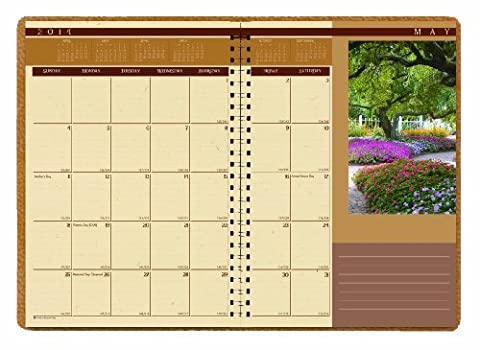 House of Doolittle Landscapes Weekly/Monthly Planner 12 Months, January 2014 to December 2014, 8.5 x 11 Inches, Nature Photos, Recycled (HOD528) by House of Doolittle