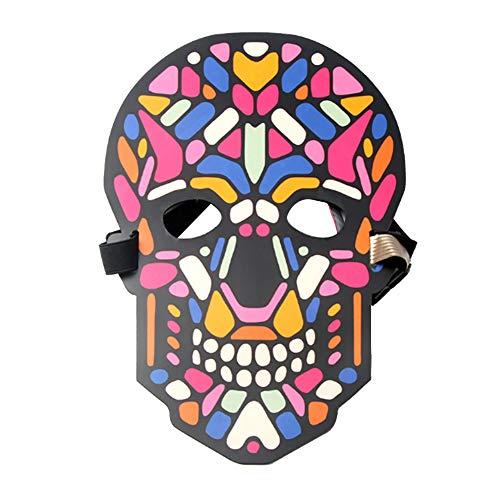AchidistviQ Halloween-Clown-Maske für Kostüm, Tanz, Rave Party, Konzert, Cosplay 7#