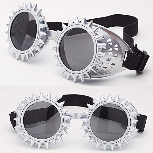 LCLrute Herren und Damen Sonnenbrillen Colorful Glasses Rave Festival Party EDM Sunglasses Diffracted Lens Verspiegelt UV-Schutz